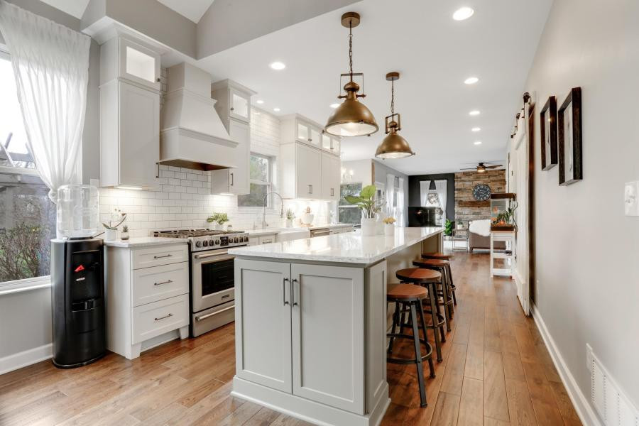 AFTER Farmhouse kitchen