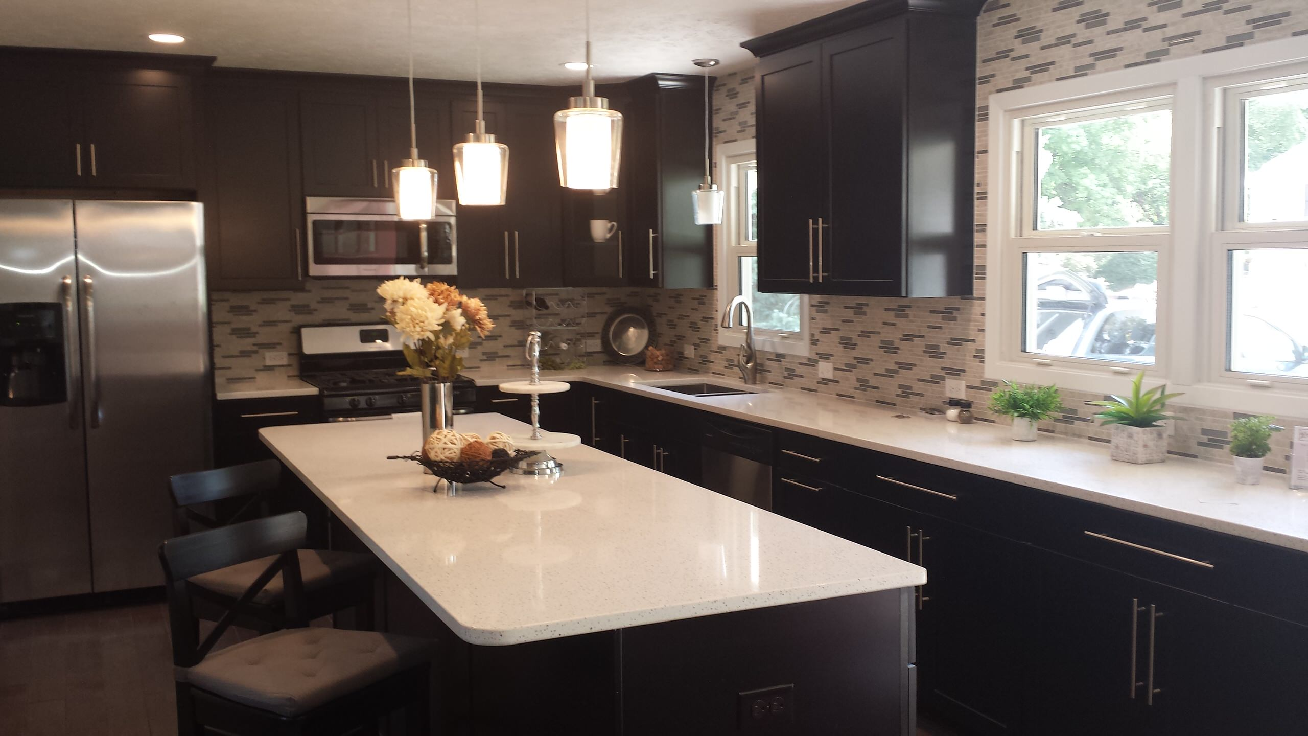 After of remodeled kitchen