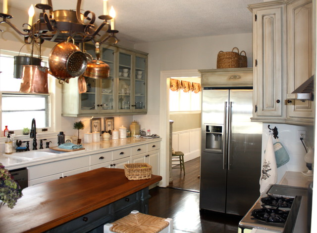 dons country kitchen after photo of new country kitchen eclectic 3425