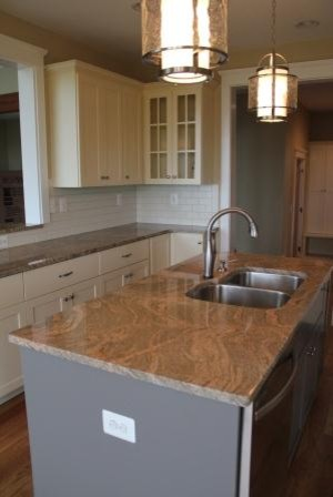 Southern Living Mountain Home traditional-kitchen
