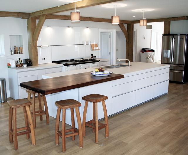 Wonderful Bulthaup Kitchen Island Part - 7: AGA Style Ovens In A Bulthaup Kitchen Rustic-kitchen