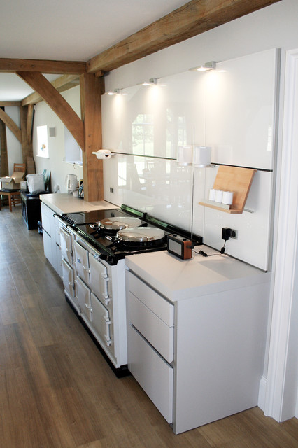 AGA Style Ovens In A Bulthaup Kitchen