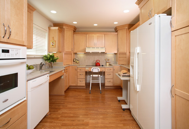 """""""Age at Home"""" Kitchen and Bath Ideas traditional-kitchen"""
