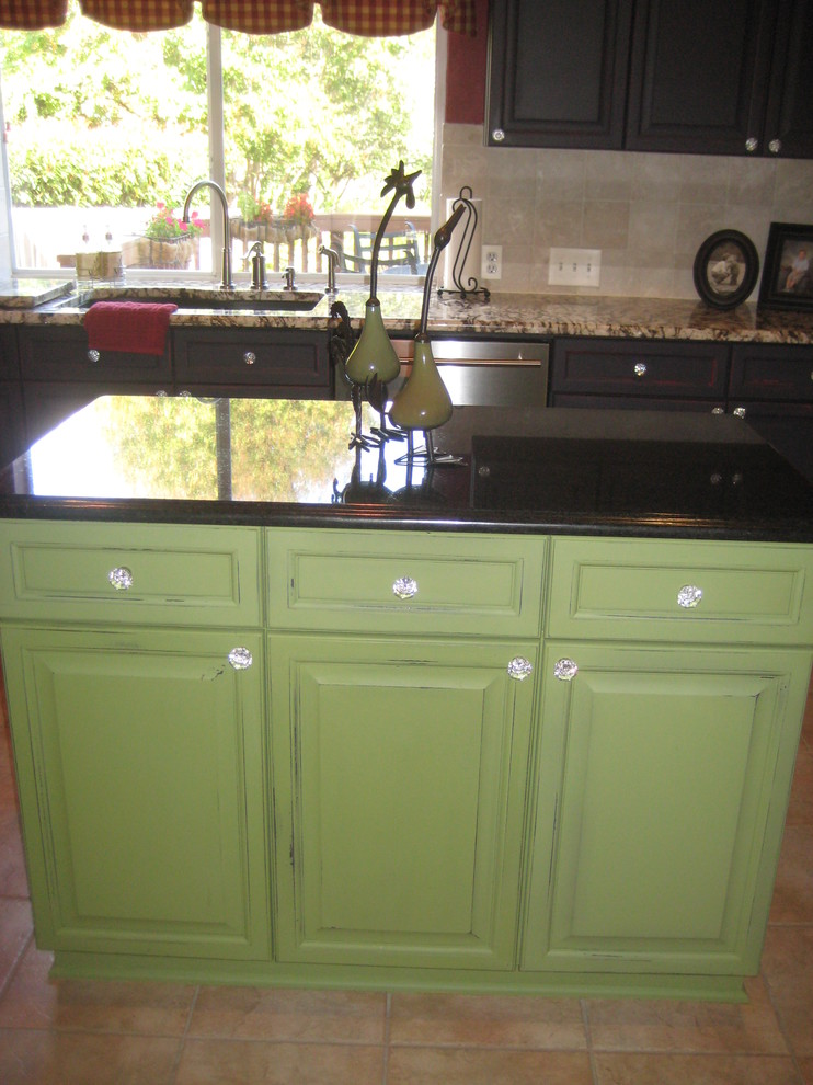 Aged Kitchen Cabinets - Eclectic - Kitchen - Austin - by ...