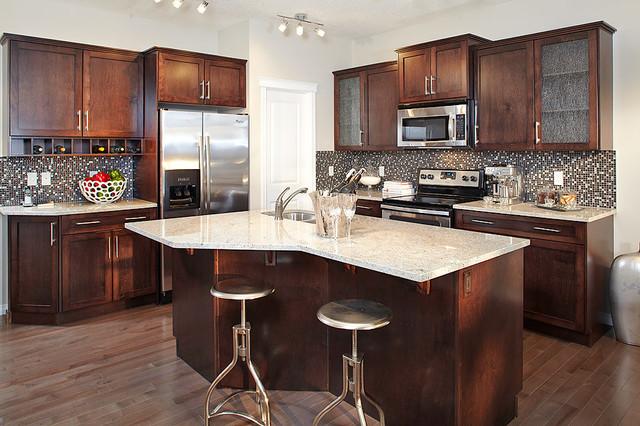Ainsworth Show Home in Heartland (Cochrane, AB) contemporary-kitchen