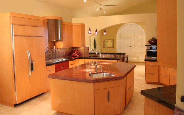 Airpark Kitchen Transformation contemporary-kitchen