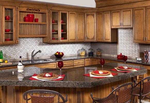 Akdo Tiles Kitchen Backsplash traditional-kitchen