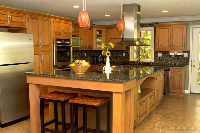 Kitchen Remodel Traditional Kitchen Cleveland By Cliqstudios Cabinets