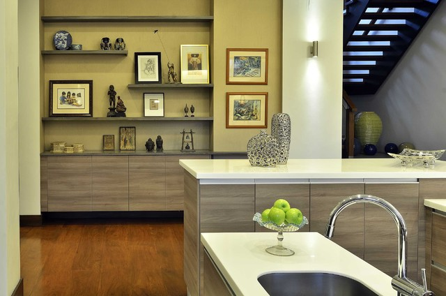 ALABANG HOUSE Modern Kitchen