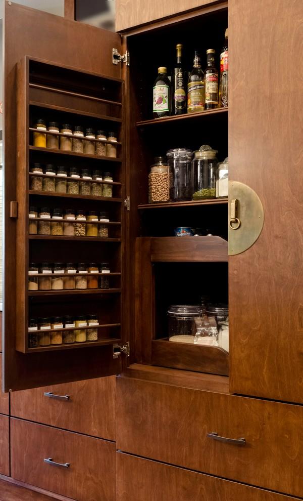 Alamo Heights Asian Inspired Condo Kitchen In San Antonio