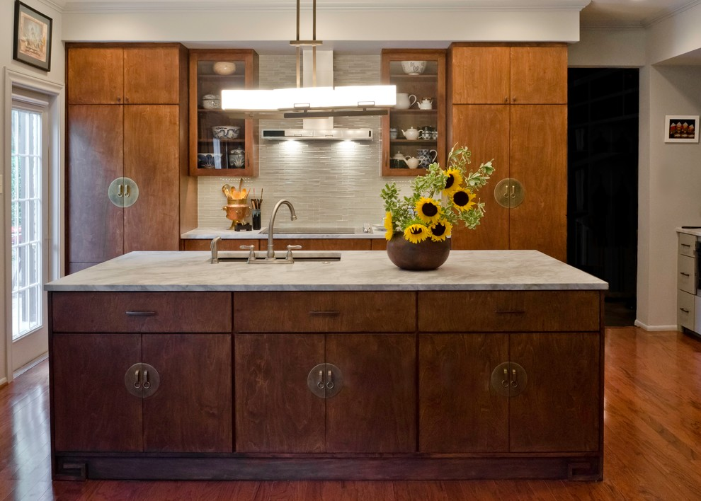 Alamo Heights Asian Inspired Condo Kitchen In San Antonio By
