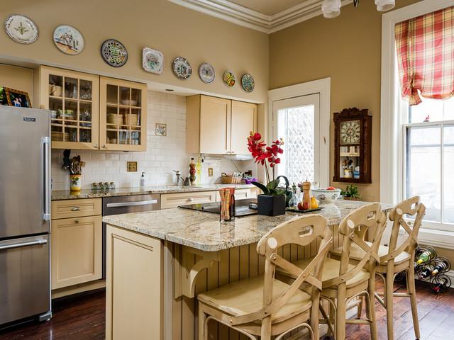 Albany NY Brownstone - Traditional - Kitchen - by EyeWasHere ...