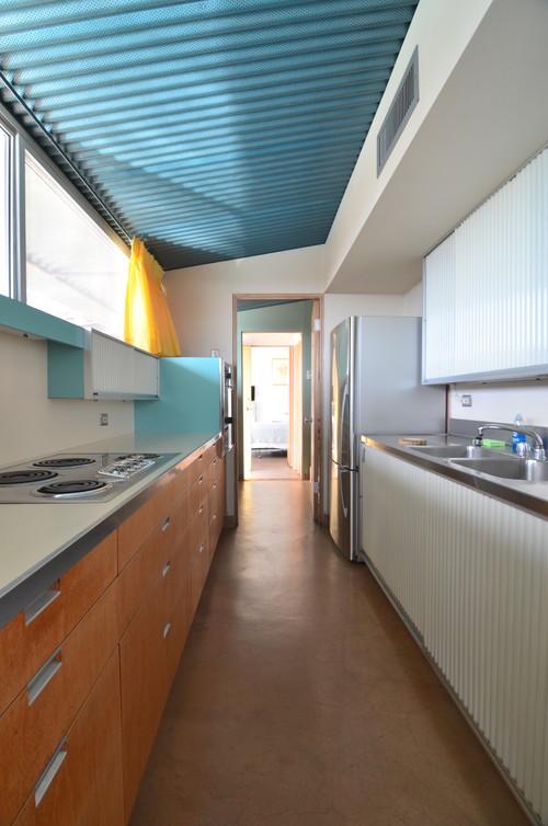 cocina casa en el desierto del arquitecto albert frey en diariodesign