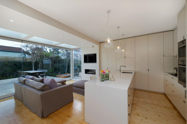 albert park extension contemporary kitchen melbourne