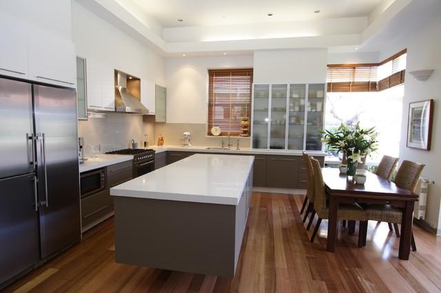 Albert Park contemporary-kitchen
