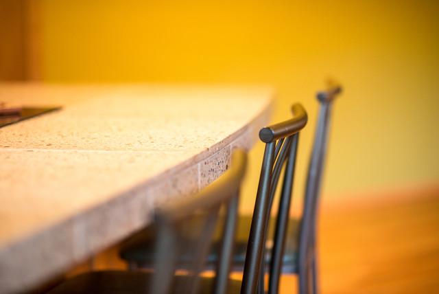 Alder wood custom kitchen modern