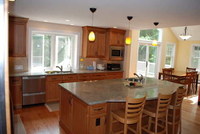 Aldrich Road Addition and Renovation traditional-kitchen
