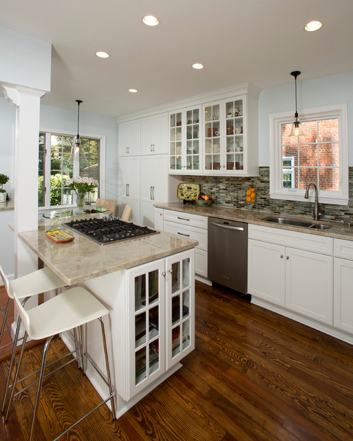 Alexandria Cozy White Kitchen Traditional Kitchen Dc Metro By Braswell Design Build