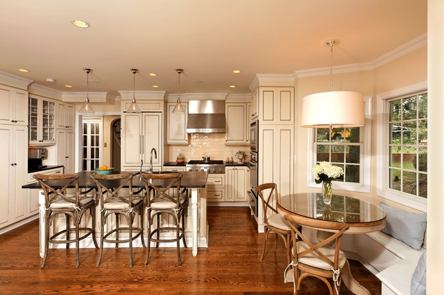 Alexandria Residence traditional-kitchen