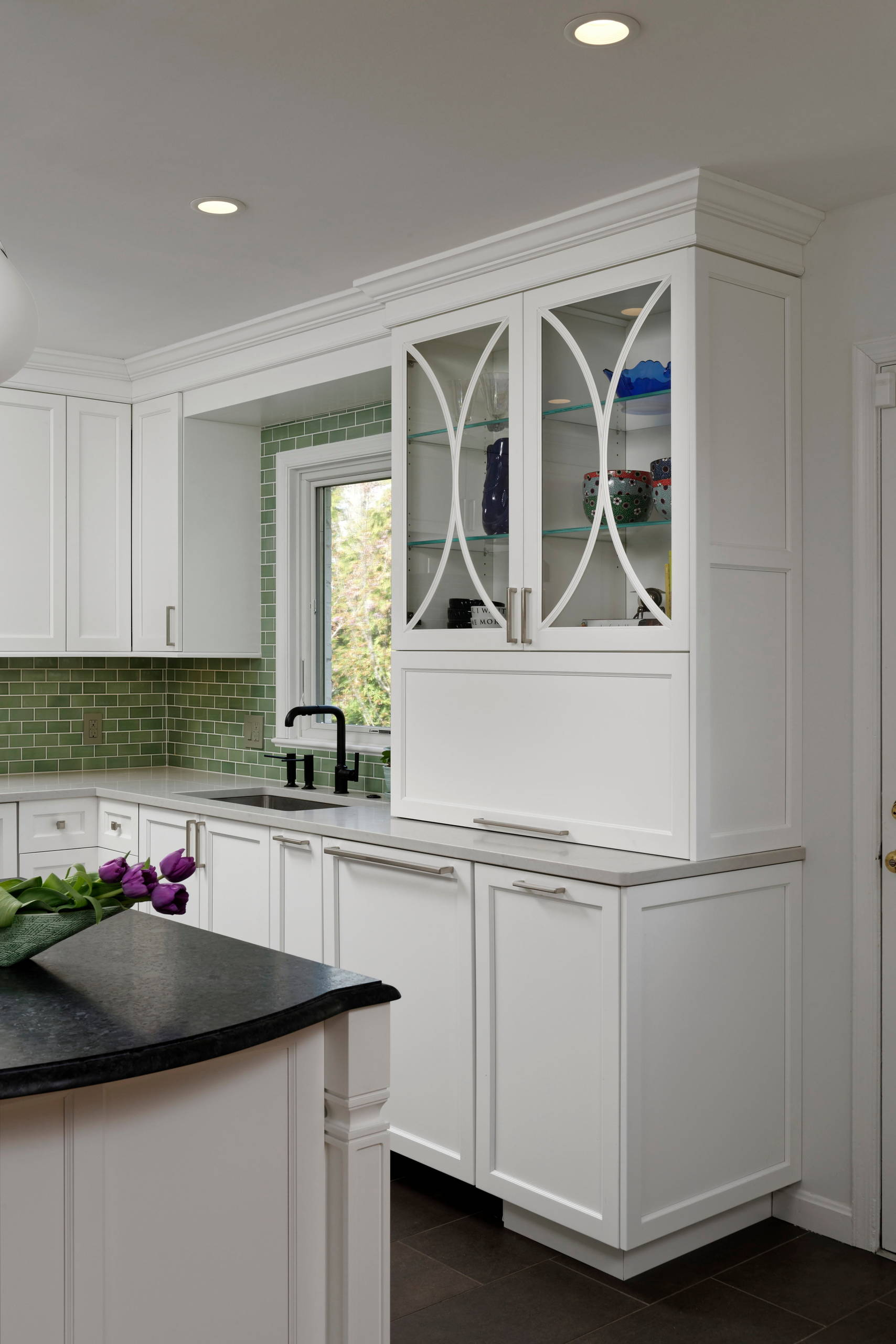 Alexandria Transitional Kitchen