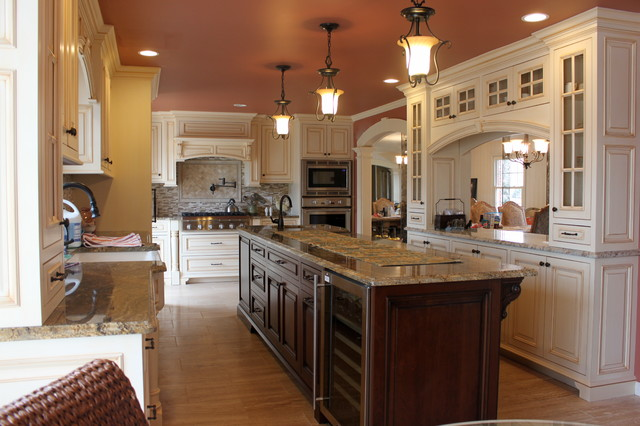 Alexandria Custom Kitchen Traditional Kitchen Dc Metro By Stone Creek Custom Kitchens