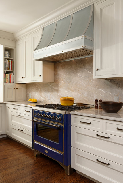 Alexandria virginia transitional kitchen design with for Kitchen zinc design