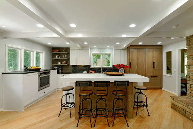Alexandria Virginia Transitional Rustic And Elegant Kitchen Design Transi