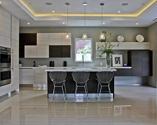 Mixed Color Cabinets Kitchen Design Ideas, Pictures, Remodel and Decor