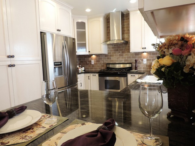 Alhambra Kitchen and Bathrooms Remodel traditional-kitchen