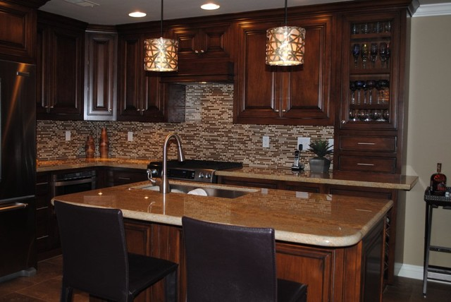 Aliso Viejo Townhouse-After contemporary-kitchen