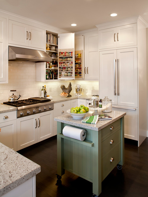 How To Make An Island Work In A Small Kitchen U Shaped Kitchen With Island Designs Center on galley kitchen with center island, white kitchen with center island, u shaped breakfast nook, kitchen cabinet design with center island, u shaped family room, small kitchen with center island, kitchen layouts with center island,