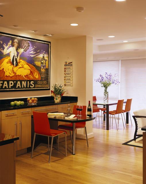 All in Good Taste contemporary-kitchen