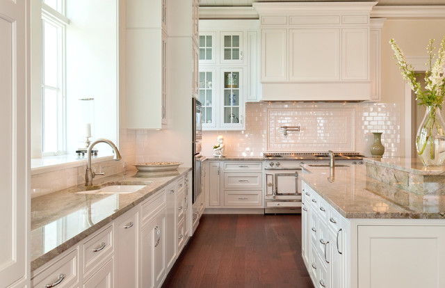 allikristé coastal custom kitchen - traditional - kitchen - tampa