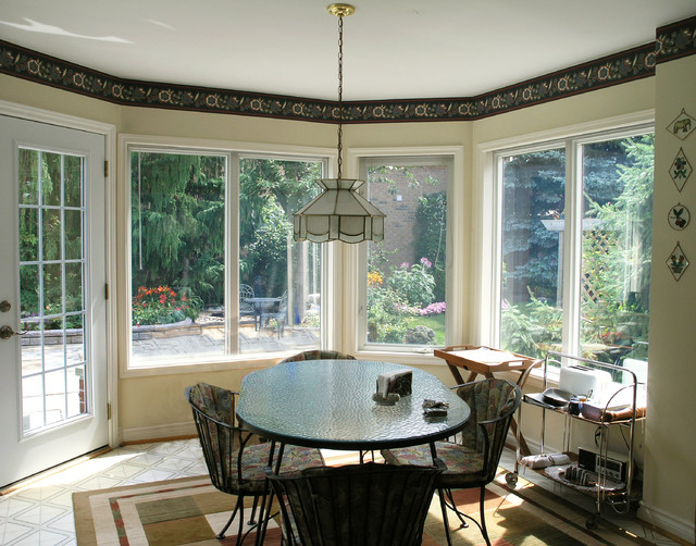 Allowing Maximal Light Into Home With Large Fixed Fiberglass Windows by Fibertec kitchen