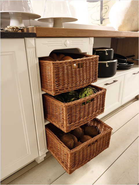 kitchen cabinet baskets 2