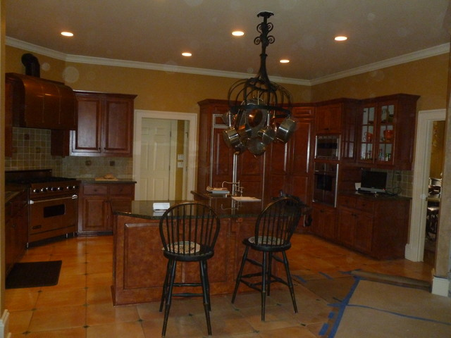 Alpharetta Interior Remodeling Traditional Kitchen Atlanta By Pro Painting Remodeling