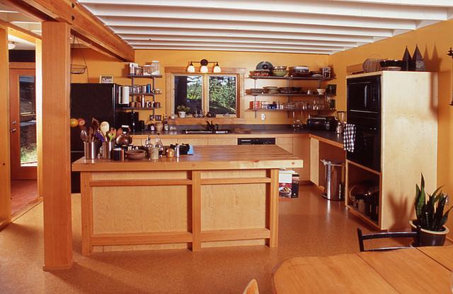 Alpine Residence contemporary-kitchen