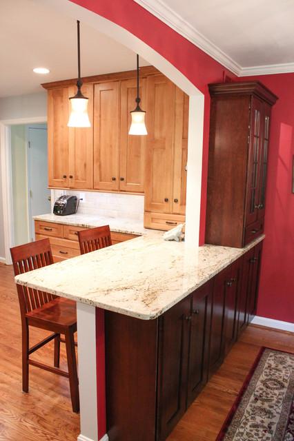 Alpine Terrace traditional-kitchen