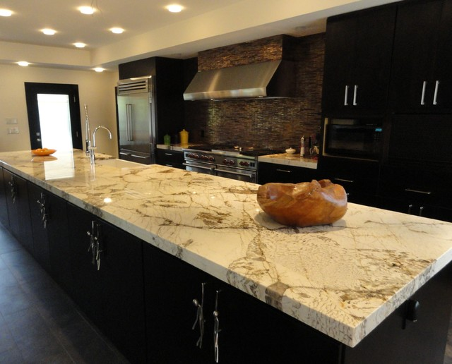 Alpinus Granite contemporary-kitchen