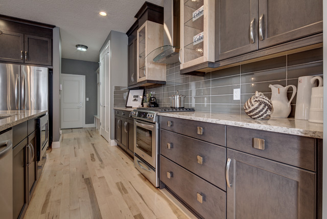 Alquinn Show Homes Featuring Divine Flooring - Modern - Kitchen ...