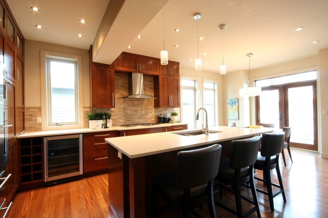 Altadore River Park contemporary-kitchen