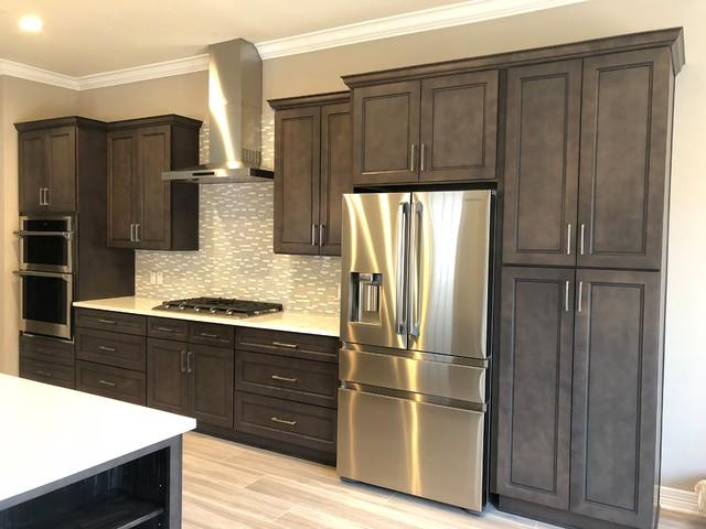 Alton Stone Gray Kitchen Cabinets, Gray Kitchen Cabinets