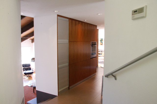 Aluminum tambour doors - Contemporary - Kitchen - Other - by Kevin Schrier Custom Woodworking