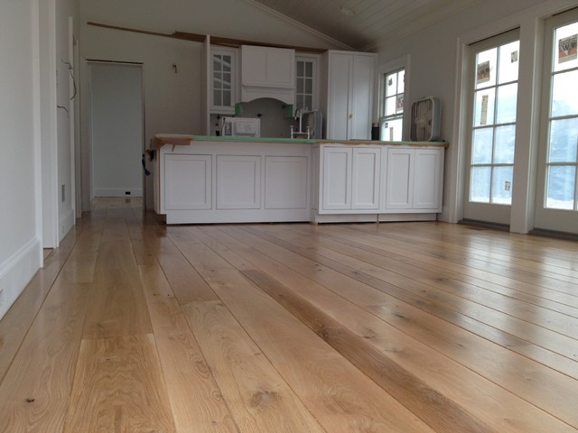Amagansett Wide Plank White Oak Installed Finished