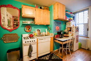 Amanda barlow eclectic kitchen new york by chris a for Aik sing interior decoration contractor