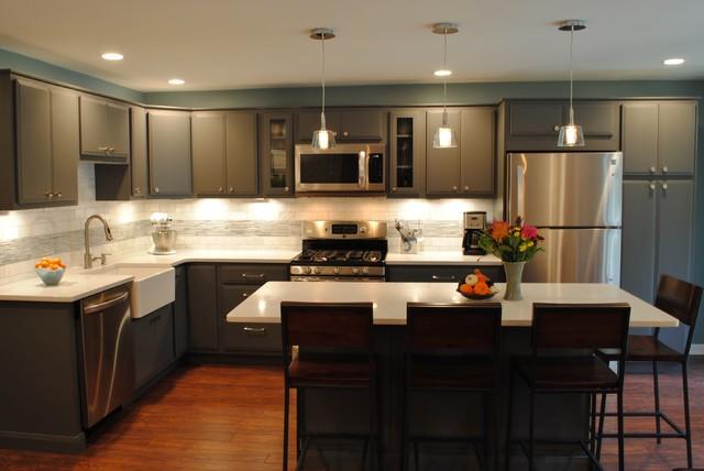 Amazing condo kitchen renovation contemporary kitchen for Amazing contemporary kitchens