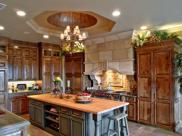 Amazing Log Home Kitchens