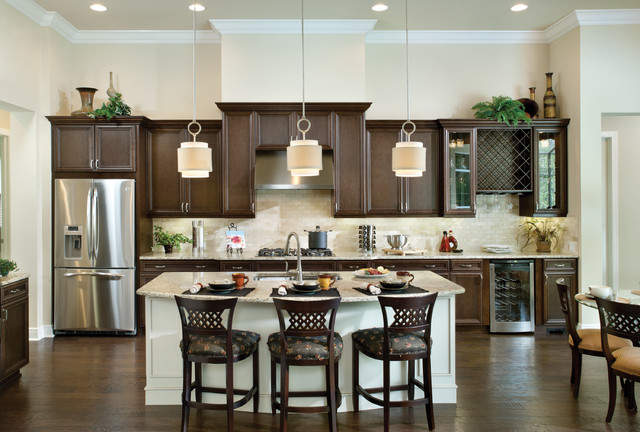 Amelia 1124 - Traditional - Kitchen - tampa - by Arthur Rutenberg Homes