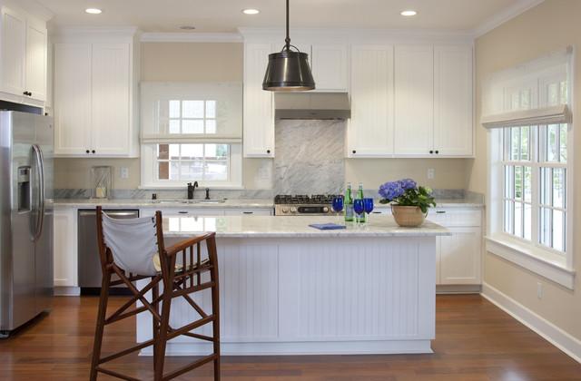 America's Cup Kitchen beach-style-kitchen
