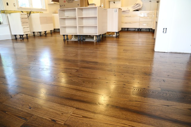 American Chestnut With Provincial Stain Contemporary
